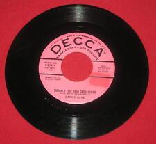 """DANNY KAYE """"MADAM, I LOVE YOUR CRE'PE SUZETTE"""" 1956 DECCA 29874 PINK PROMO LQQK!"""