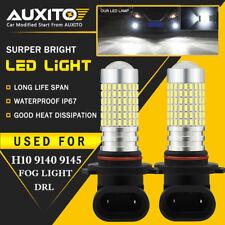 2800Lm H10 9145 9140 144-Smd Led Fog Light Conversion Kit Bulbs Xenon White Eoa(Fits: Neon)
