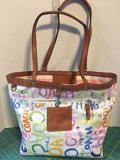 Coach Hamptons Reversable Tote              Gently used