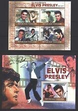 Togo 2010 - 75. cumpleaños de Elvis Presley-The King-edición completa