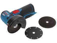 Bosch GWS 12-76 V-EC Angle Grinder Bare Unit + 3 x Cutting Discs 06019F2000