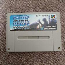 [Used] Sonic Wings Nintendo SNES Shooting Game F/S
