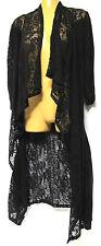 TS jacket TAKING SHAPE plus sz XXS / 12 Rosy Duster Cardy black lacy stretch NWT