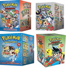 Pokemon Adventures Book Box Set: Volumes 1-29 Collection [Paperback Manga] NEW