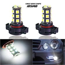 5202 5204 H16 LED Fog Light DRL 6000K Xenon White Bulbs Replacement