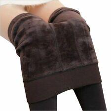 Warm Leggings womens winter fleece legging pants female velvet leggins trousers
