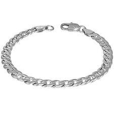 Edelstahl Armband Silber Panzerkette Edelstahlarmband Herrenarmband ME 286