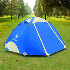 Outdoor Ultralight Waterproof Aluminum Pole Camping Backpacking Tent