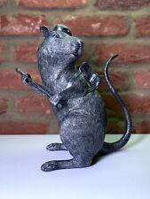 BANKSY ART - RAT SCULPTURE - LTD EDITION - RARE - DISMALAND - WALLED OFF - GDP