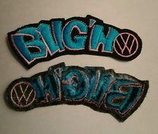 Brand new VW Bug'n punch bug iron on embroidery logo jacket t shirt