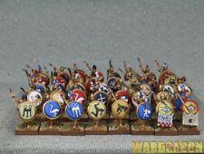 28mm Warlord WDS painted Greeks:Classical Greek Phalanx b73