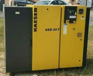 2004 Kaeser ASD-30-T Rotary Screw Air Compressor 30 HP 230/460V 134 CFM