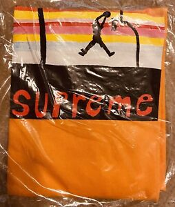 Supreme Dunk Tee Bright Orange Size M Brand New IN HAND
