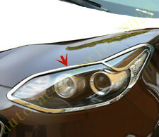 New Chrome Head Light Lamp Guard Cover Molding Trim K954 for Kia Optima 11-14