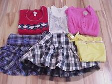 Lot Girls Shirt/Skirt/Sweater Tops Tanks Skort Limited Too/Justice Size 12-20