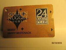 Golden Nugget Casino Players card- Laughlin ,Nv- mint