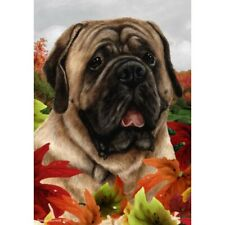 Fall Garden Flag - Fawn Mastiff 131131