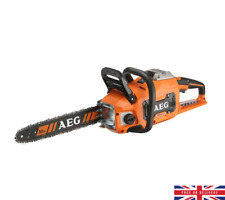 AEG Powertools 50V Brushless Chainsaw Skin No Battery Or Charger Garden Tools