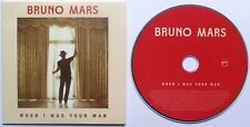 Bruno Mars, When I Was Your Man, Promo, promotional DJ
