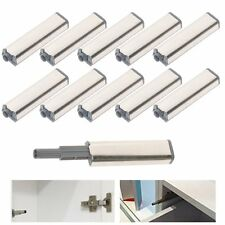 10PCS Cabinet Latch Door Drawer Push To Open System Damper Buffer Catch Set US