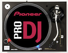 TECHNICS PIONEER PRO DJ - DJ SLIPMATS (1 PAIR) 1200's or any turntable