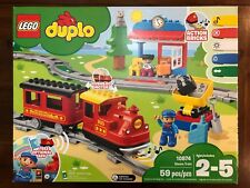 Lego Duplo 10874 Steam Train 59 Pcs Blocks Brand New Sealed Action Bricks Track