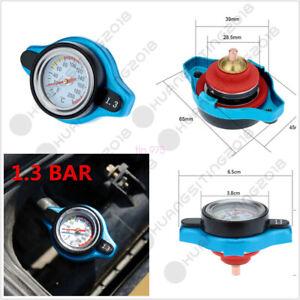 Porfessional Small Head Car Thermost Radiator Cap Cover& Water Temp Gauge Meter