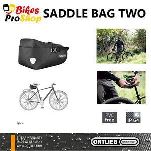 ORTLIEB Saddle Bag TWO - Bike Bicycle Saddle Bag WATERPROOF MADE IN GERMANY 2021