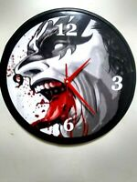 KISS- GENE SIMMONS - GOD OF THUNDER - 12 INCH QUARTZ WALL CLOCK -MANCAVE - BAR