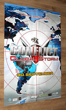 Conflict Global Storm Terror Promo Poster Playstations 2 Xbox 84x59cm
