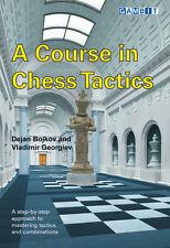 Course in Chess Tactics. By Dejan Bojkov & Vladimir Georgiev. NEW CHESS BOOK