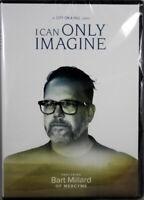 I Can Only Imagine Bart Millard's Testimony NEW DVD Documentary Biography