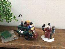 Dept 56 Heritage Village Chelsea Market Hat Monger & Cart #58392