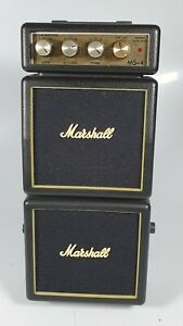 Marshall MS-4 Micro Stack Electric Guitar Amp- Working Incl. Battery Used