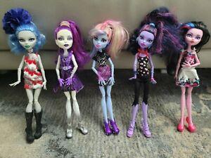 Monster High Doll Bundle Lot of 5 dolls