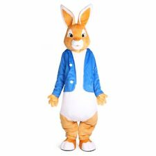 2019 Rabbit Mascot Costume Suit Party Adult Cosplay Dress Outfit Clothing