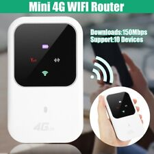 Portable 3G/4G Travel LTE Wifi Router Mobile Modem 150Mbps Hotspot SIM Unlocked