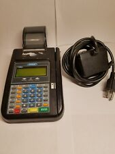 Hypercom T7 Plus Credit Card Machine w/ Power Supply & Paper Roll Tray Free Ship