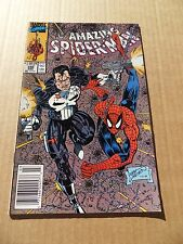 Amazing Spider-man  330.Punisher App .  Marvel  1990 -   VF / NM