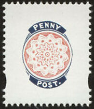 GB Penny Post unmounted mint Cinderella 'stamp' from Prestige Book DX46 Treasure