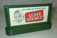 Standard Lionel Billboard Florida's Silver Springs ORIGINAL VINTAGE free ship