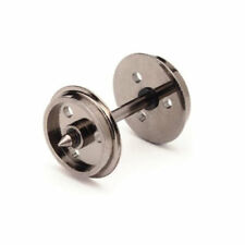 HORNBY R8097 Metal 3 Hole Disc Wheel Sets Pack 10