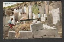 unmailed post card Stone Quarry Bermuda/Yankee Store & Bermuda Drug Co No 7