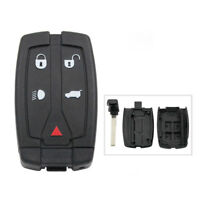 Replacement 5 Button Remote Key Fob Case Shell for Land Rover Freelander 2 Grand