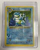 Blastoise 2/102 Base Set 1999 Holo Shadowless Pokemon Card (RARE)
