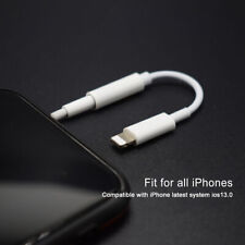 iPhone 3.5mm Lightning to Earphone  Bluetooth Jack  Adapter Cable...