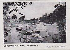 1970  --  LE TERRAIN DE CAMPING   LA PRAIRIE  LORIENT   3J662