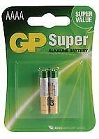 Batería Super alcalina AAAA (PK 2) baterías no recargables-CM87608