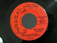 Rockabilly JIM NESBITT Cry Me A River / Looking For More In '64 CHART 1065