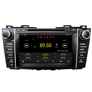 "8""Android 10 Car DVD GPS Navigation Radio Stereo For Mazda 5 Premacy 2010 - 2015"